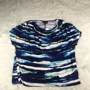 NWT women's short sleeve Tye Dyed Top Size 3X